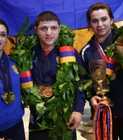 CHAMPIONS IN EUROPIAN WEIGHTLIFTING CHAMPIONSHIPS 2016