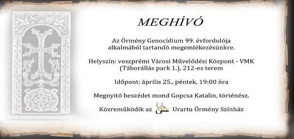 meghivo GENOCIDIUM