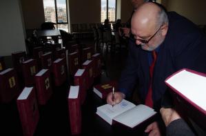Könyvbemutató Jerevánban