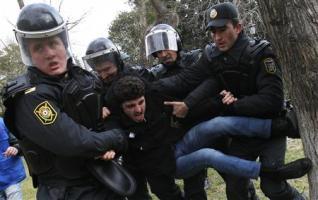 AZERBAIJAN-PROTEST